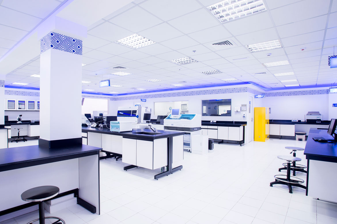 Thumbay Labs located in the premises of Thumbay Hospital Dubai